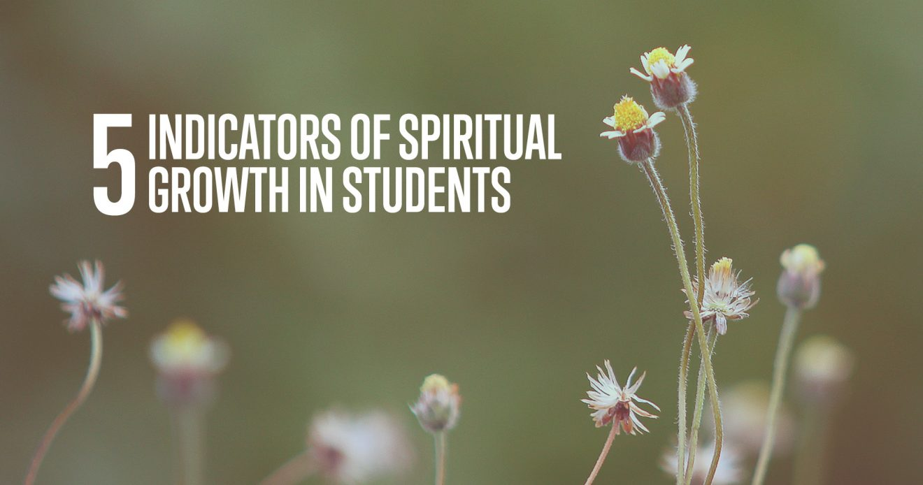 5 Indicators of Spiritual Growth in Students