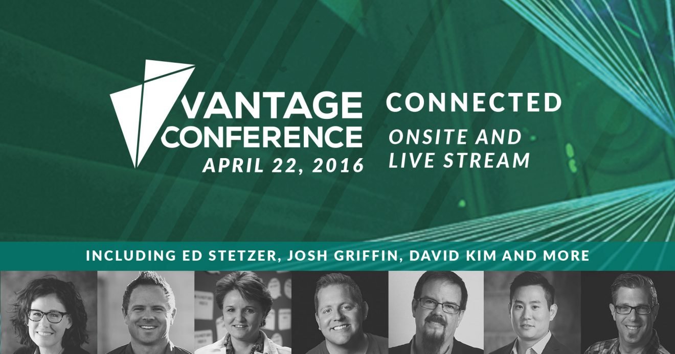 Experience The  Vantage Conference with Speaker Josh Griffin