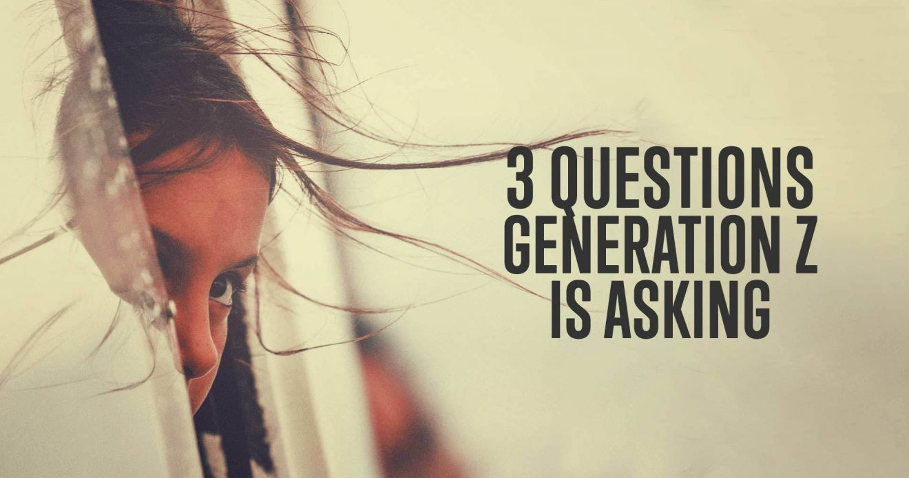 3 Question Generation Z is Asking