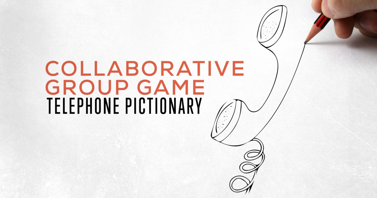 Collaborative Group Game: Telephone Pictionary