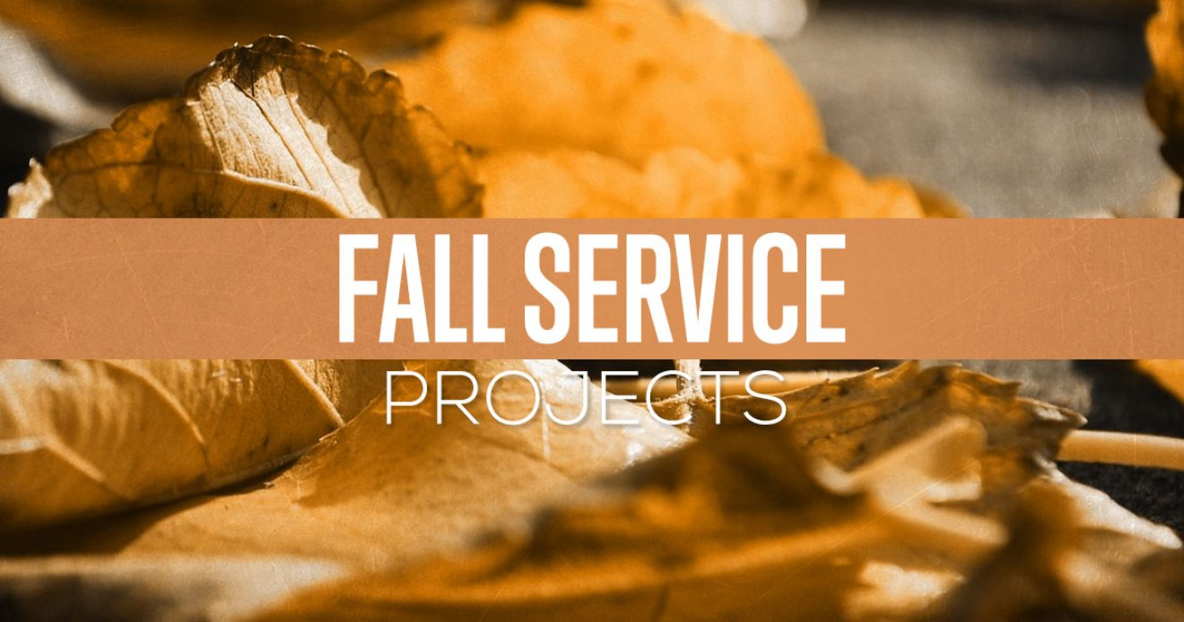 Fall Service Projects