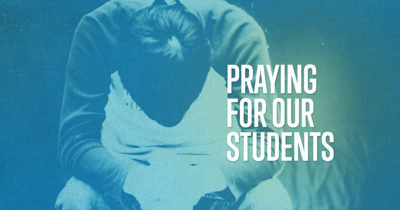 Praying for our Students