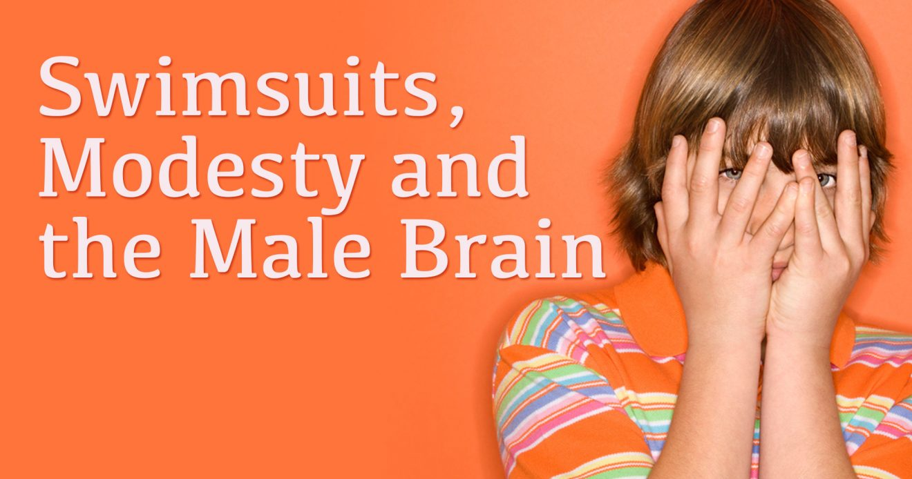 Swimsuits, Modesty and the Male Brain